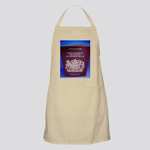 British passport - Apron