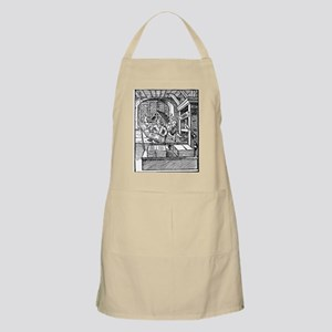 Printing press, 16th century - Apron
