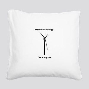 I'm a big fan Square Canvas Pillow