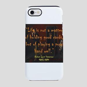 Life Is Not A Matter - Stevenson iPhone 7 Tough Ca