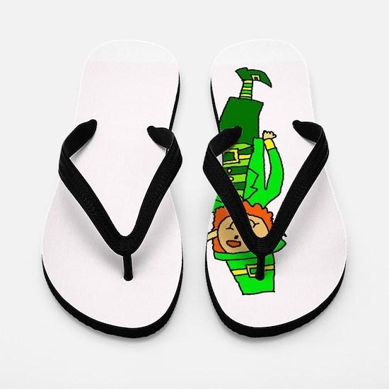 Leprechaun Flip Flops