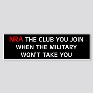 Anti-Republican: NRA (Bumper)