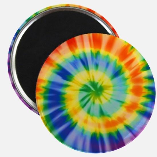 Printed Tie Dye Pattern Magnet