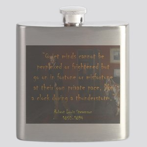 Quiet Minds Cannot Be Perplexed - Stevenson Flask