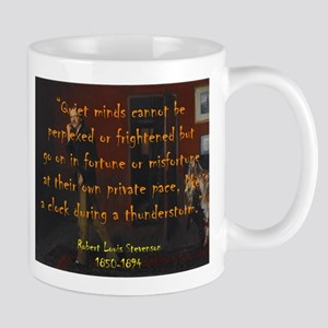 Quiet Minds Cannot Be Perplexed - Stevenson Mugs