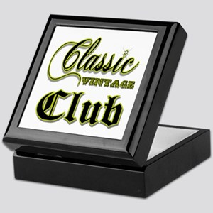Classic Vintage Club Keepsake Box