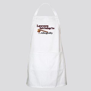 Lawyers Have Feelings BBQ Apron