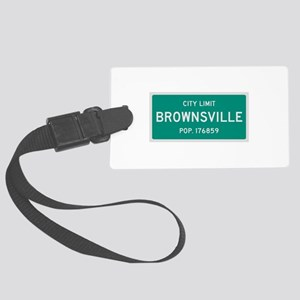 Brownsville, Texas City Limits Luggage Tag