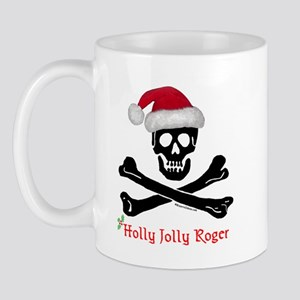 Holly Jolly Roger (C) Mug