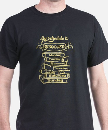 Busy Bookworm Full Schedule T-Shirt