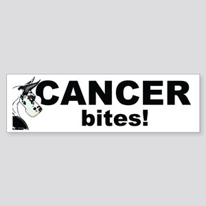 CH Cancer Bites Bumper Sticker