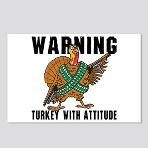 Funny Turkey Postcards (Package of 8)