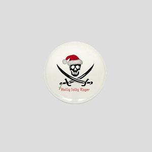 Holly Jolly Roger (S) Mini Button