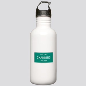 Channing, Texas City Limits Water Bottle