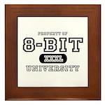 8-Bit University Framed Tile