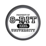 8-Bit University Wall Clock