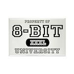 8-Bit University Rectangle Magnet