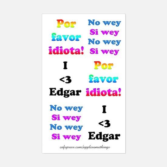 Edgar Se Cae Sticker Embellishments