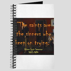 The Saints Are The Sinners - Stevenson Journal