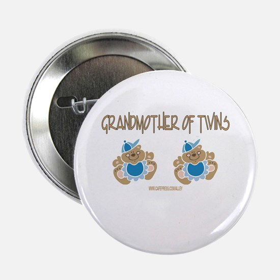 Grandmother Of Twins (2 Boys) Button