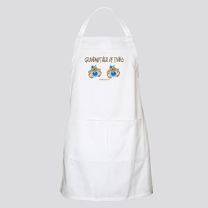 Grandmother Of Twins (2 Boys) BBQ Apron