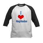 I Heart Greg Sanders2 Baseball Jersey