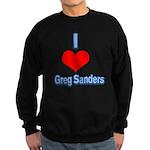 I Heart Greg Sanders2 Sweatshirt
