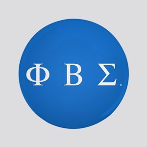 Phi Beta Sigma Letters Button