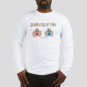 Grandfather Of Twins- Boy/Girl Long Sleeve T-Shirt
