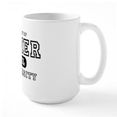 Gamer University Large Mug