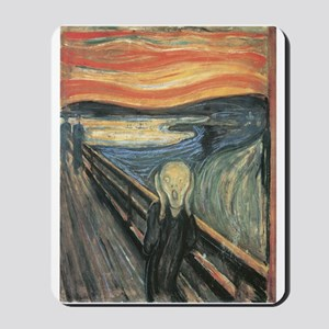 The Scream painting Mousepad