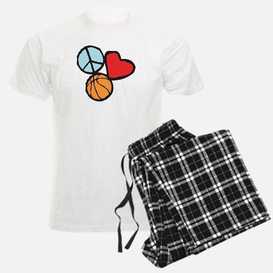 Peace, Love, Basketball Pajamas