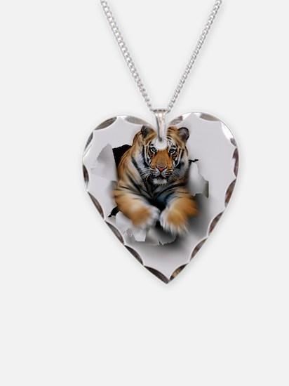 Tiger, artwork - Necklace