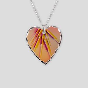 needles - Necklace Heart Charm