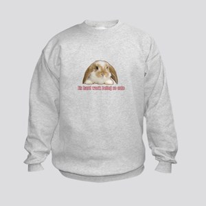 Its hard work being so cute Sweatshirt