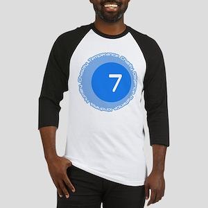 Seven 7 Virtues Number Design Baseball Jersey