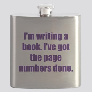 Writing a Book Flask