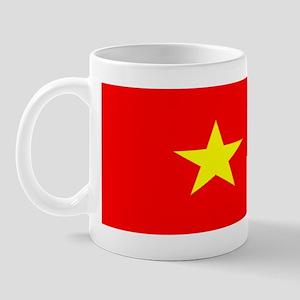Vietnam Vietnamese Blank Flag Mug