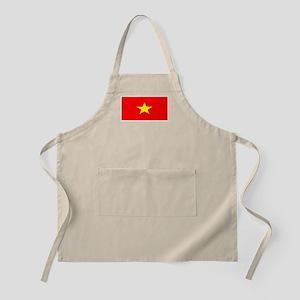Vietnam Vietnamese Flag Barbeque Apron
