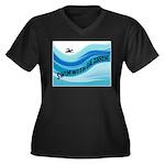 SWIMMER Plus Size T-Shirt