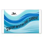 SWIMMER Sticker