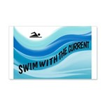 SWIMMER Wall Decal
