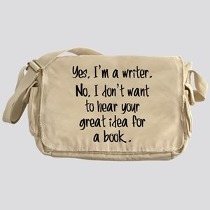 Writers and Book Ideas Messenger Bag
