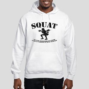 Squat Women's Hoodie 1