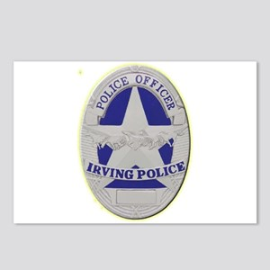Irving Police Postcards (Package of 8)
