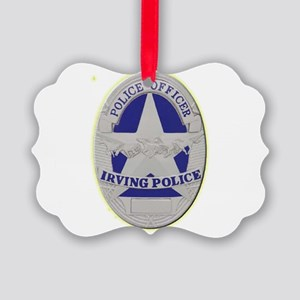 Irving Police Ornament