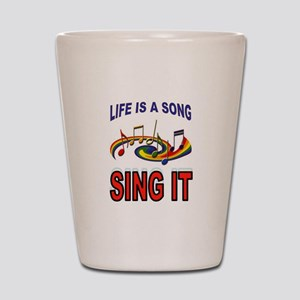 SONG OF LIFE Shot Glass