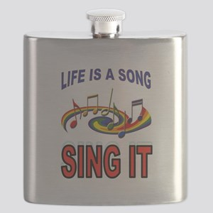 SONG OF LIFE Flask