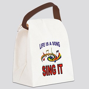SONG OF LIFE Canvas Lunch Bag
