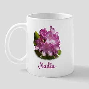 Nadia: Purple Flower Mug